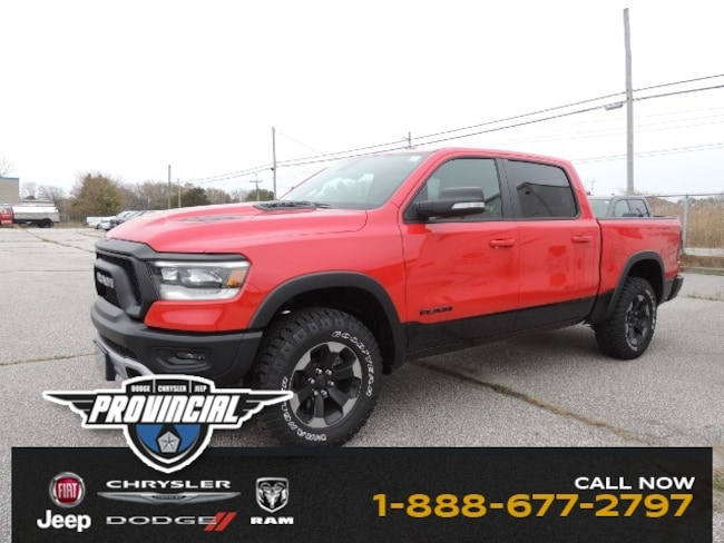 New 2019 Ram All-New 1500 Rebel Truck Crew Cab 1C6SRFLTXKN545448 dealer in Windsor, Ontario - inventory