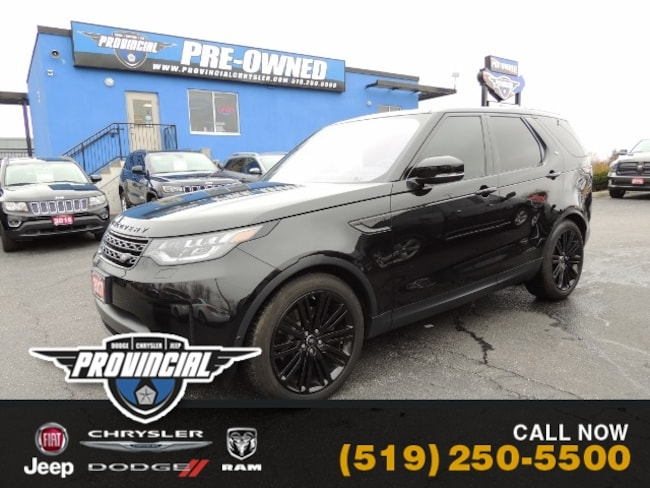 Used 2017 Land Rover Discovery HSE SUV in Windsor, Ontario