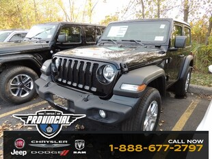 2020 Jeep All-New Wrangler Sport S Best Lease Deals On Jeep Provincial Chrysler SUV 1C4GJXAN6LW147522 200069