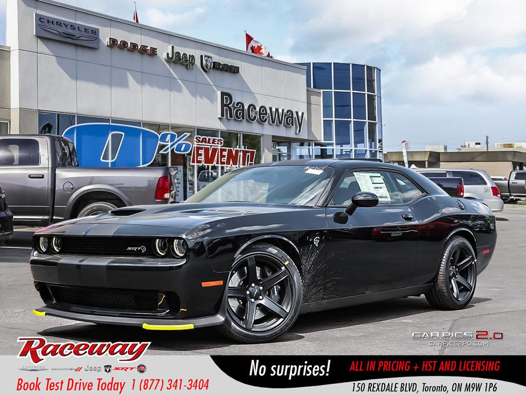 2018 Dodge Challenger SRT Hellcat   VENTED SEATS   SUNROOF   BLUETOOTH   Coupe