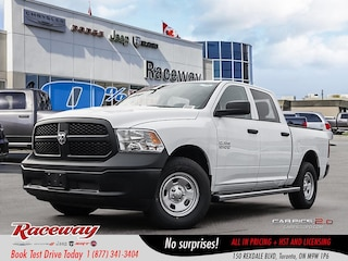 2018 Ram 1500 ST | REAR CAM | REM START | V6| BLUETOOTH Truck Crew Cab