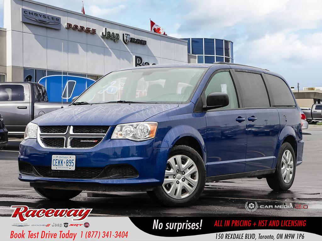 2018 Dodge Grand Caravan SXT - Demo, Full Stow n Go, Power Window Group, BT VAN