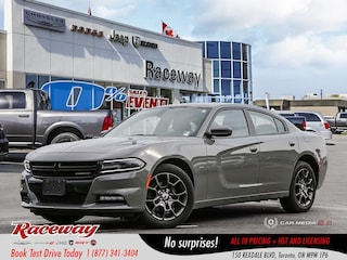2018 Dodge Charger GT - AWD, BT, Back Up Cam, 8.4 Media Screen CAR