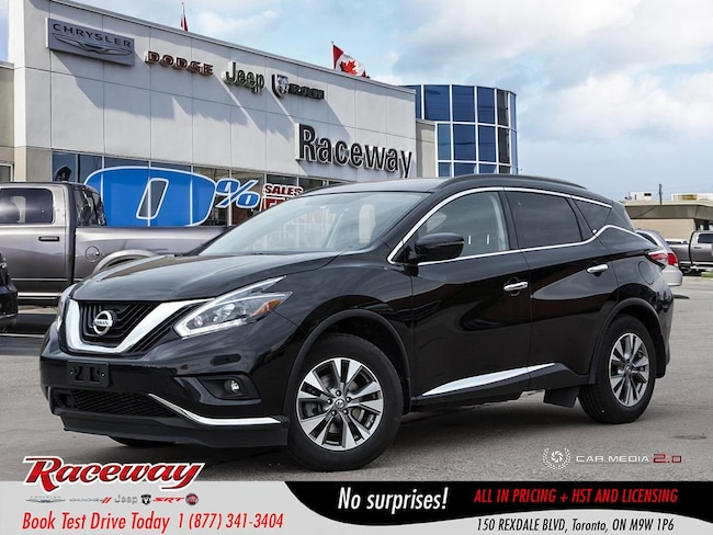 2018 Nissan Murano SV - AWD, Pano Roof, Htd Seats, Back Up Cam, Blue- SUV