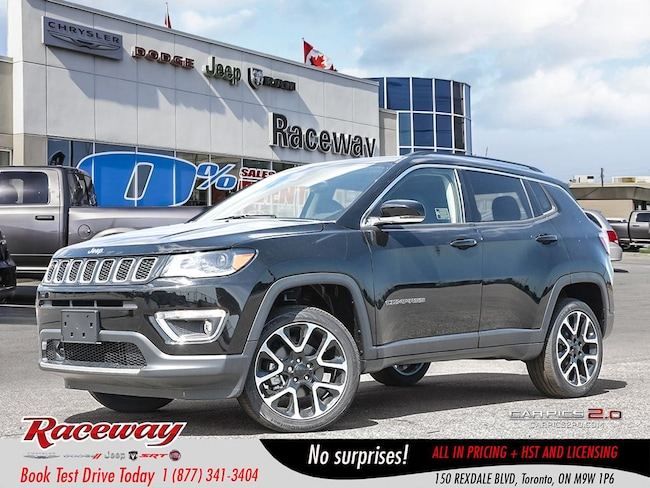 2018 Jeep Compass Limited | LTHR | ADVANCE SAFETY PKG | NAV | SUV