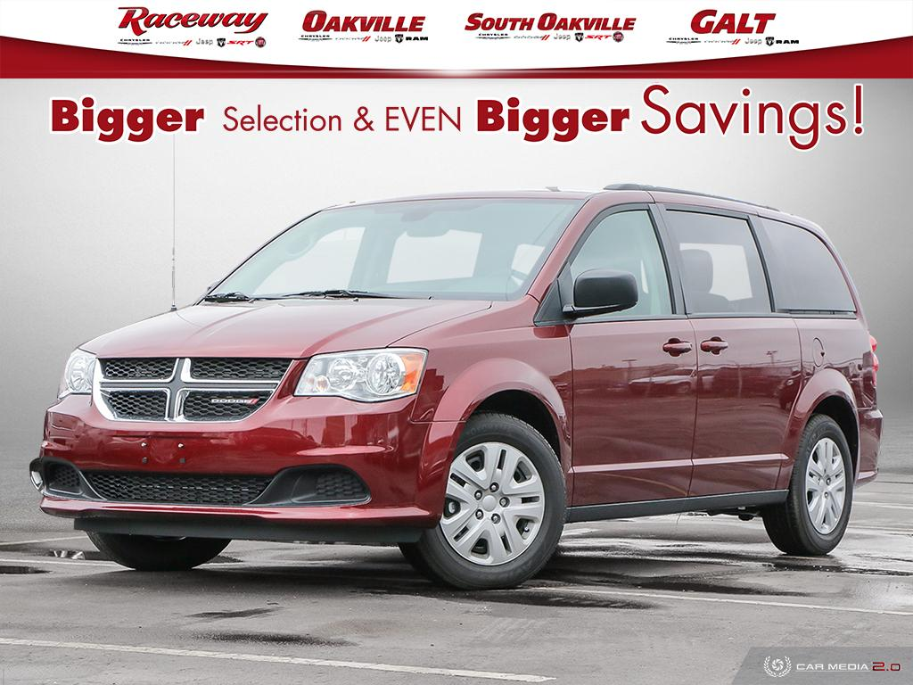 2019 Dodge Grand Caravan  SXT, Demo, DVD, Back Up, Blue tooth, FULL STOW'N  Van Passenger Van