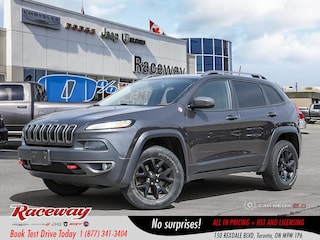 2016 Jeep Cherokee Trailhawk - Nav, Back Up Cam, Blue-tooth, Leather SUV