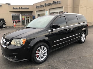 2017 Dodge Grand Caravan Crew - 6.5 Media Screen, Back Up Cam, BlueTooth Van Passenger Van