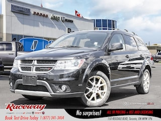 2013 Dodge Journey Crew - 8.4 Media Screen, Htd Front Seats, Htd Wheel, Remote Starter SUV