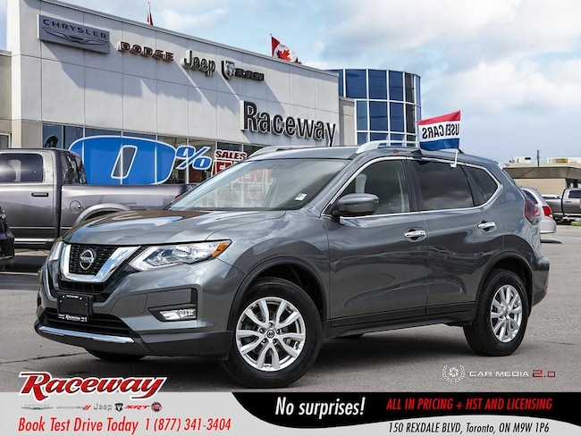 2018 Nissan Rogue S - Back Up Cam, Htd Seats, Blue tooth, AWD SUV
