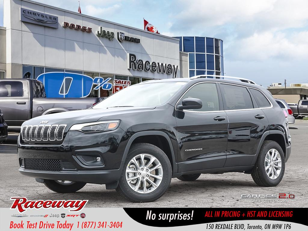 2019 Jeep New Cherokee NORTH | COMPANY DEMO | COLD WEATHER GRP | SUV