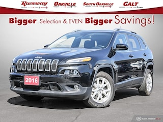 2016 Jeep Cherokee North, BRILLIANT BLACK, BACK UP CAMERA SUV