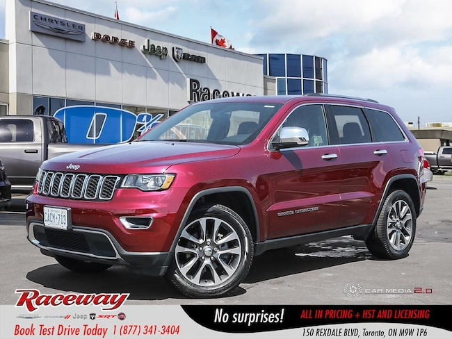 2018 Jeep Grand Cherokee Limited - Demo, Htd Seats & Wheel, Back Up Camera, SUV