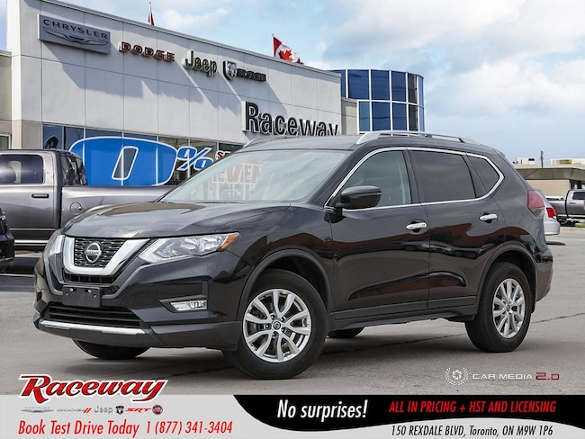 2018 Nissan Rogue S - AWD, Back Up Cam, Blue-tooth, Media Screen SUV