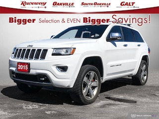 2015 Jeep Grand Cherokee Overland | WE SLASHED OUR PRICES | SHOP FROM HOME | SUV