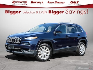 2016 Jeep Cherokee LIMITED 4X4 LOADED!! SUV