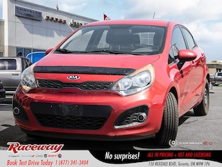 2013 Kia Rio LX - Back Up Cam, Blue-Tooth, Htd Seats Hatchback