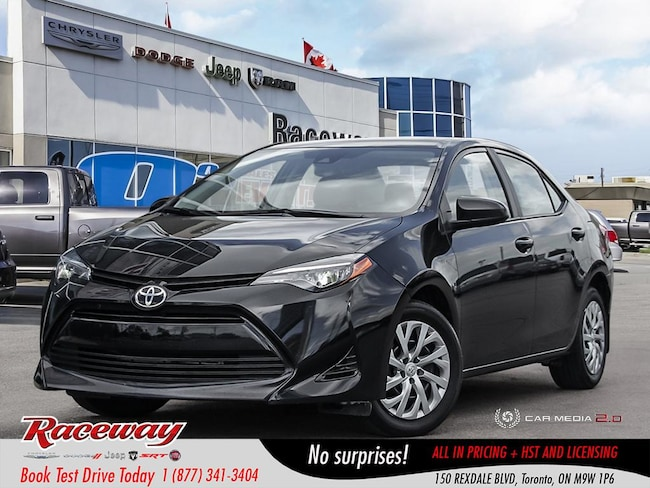 2018 Toyota Corolla LE - Back Up Cam, Htd Seats, Blue-Tooth Sedan