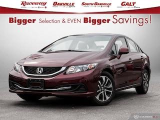 2013 Honda Civic EX  AUTO   DUAL ZONE A/C  BACK UP CAM Sedan