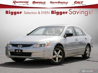 2004 Honda Accord EX-L, AUTOMATIC TRANSMISSION, CD PLAYER, LEATHER Sedan