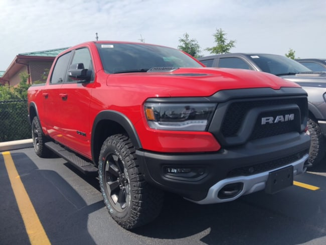 2019 Ram All-New 1500 Rebel Truck Crew Cab