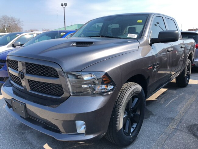 2019 Ram 1500 Classic Express Blackout Package  Truck Crew Cab