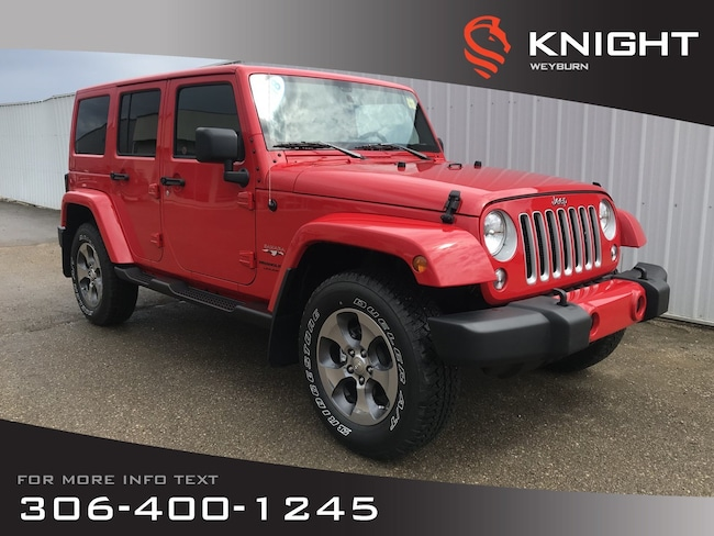 2018 Jeep Wrangler JK Sahara   Heated Seats   Navigation   Remote Start SUV