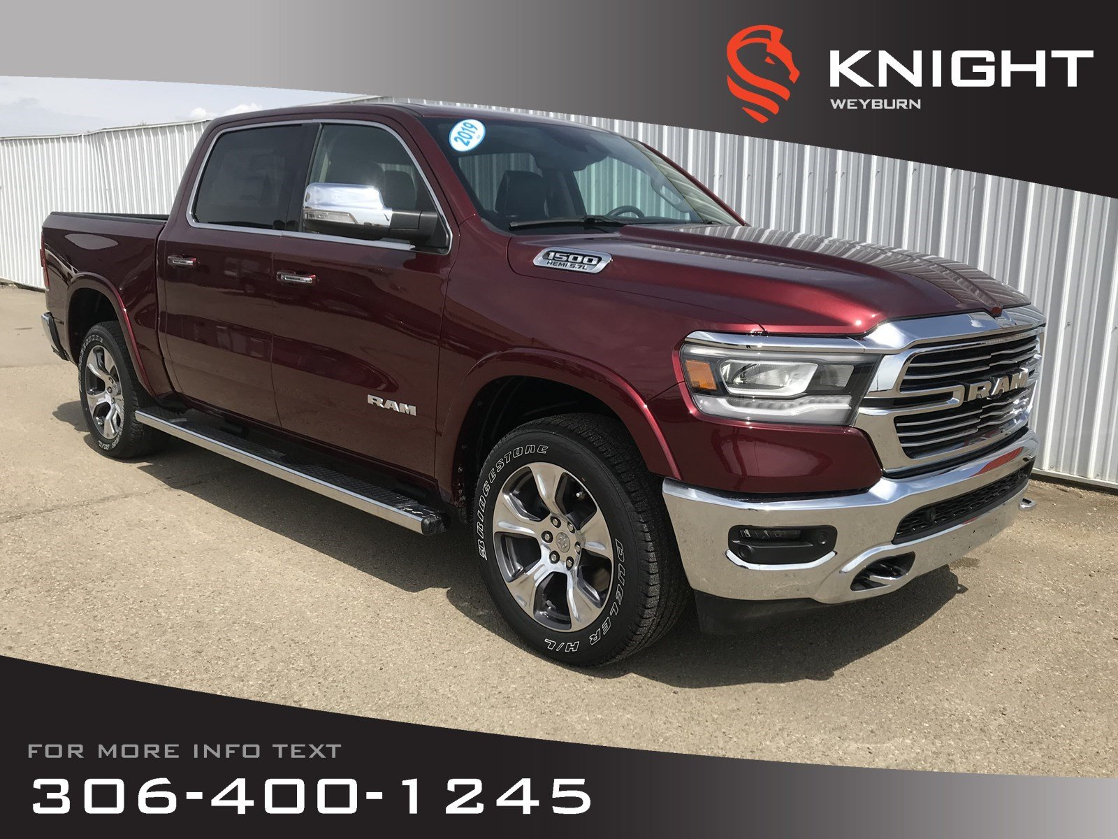 2019 Ram All-New 1500 Laramie Crew Cab | Invoice Pricing | $354 Bi-Weekl Truck Crew Cab