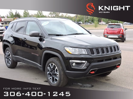 2020 Jeep Compass Trailhawk 4x4 | Leather Heated Seats/Steering Whee SUV