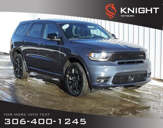 2020 Dodge Durango GT AWD | Leather & Suede Heated Seats | NAV | Sunr SUV