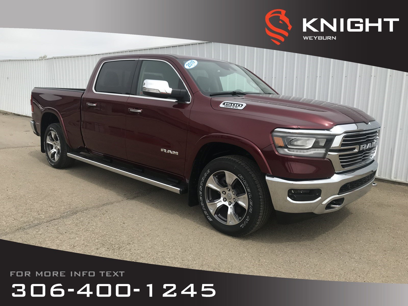 2019 Ram All-New 1500 Laramie Crew Cab | Invoice Pricing | $359 Bi-Weekl Truck Crew Cab
