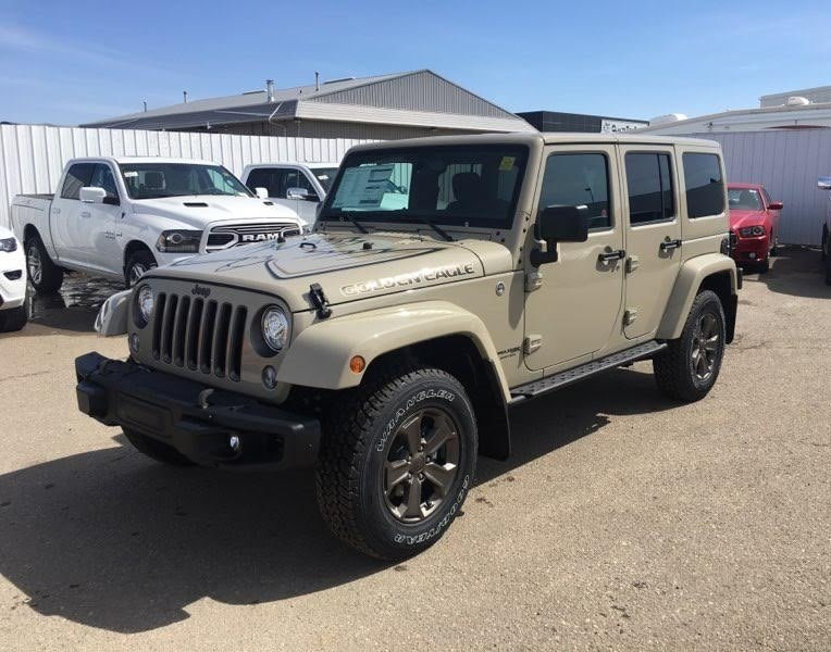 ... 2018 Jeep Wrangler JK Sport Golden Eagle Package Max Tow Package Alpine  SUV ...