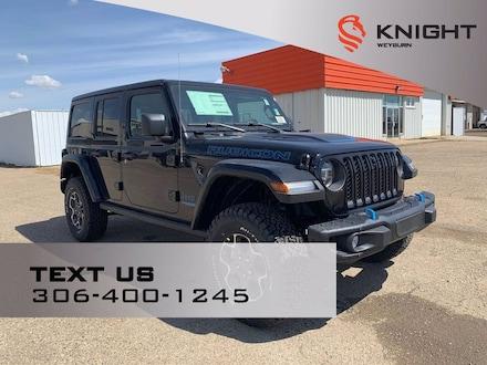 2021 Jeep Wrangler 4xe Unlimited Rubicon | Hybrid | B/u Camera | Remote S 4x4