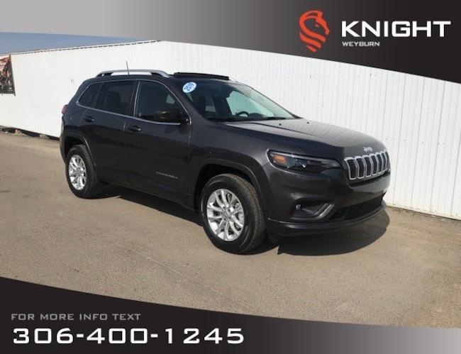 2019 Jeep New Cherokee North 4x4 V6   Heated Seats and Steering Wheel   S SUV