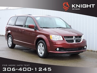 2020 Dodge Grand Caravan Crew 2WD | DVD | B/U Camera | Stow n Go | Power Sl Van