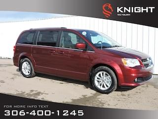 2020 Dodge Grand Caravan Premium Plus 2WD | Leatherette Heated Seats &Steer Van
