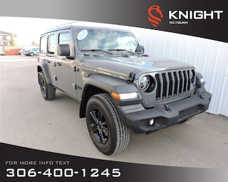 2020 Jeep Wrangler Sport Altitude 4x4 | Heated Front Seats & Steering SUV