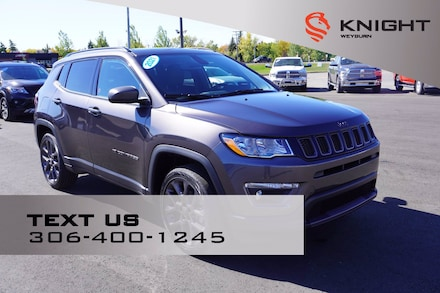2021 Jeep Compass 80th Anniversary Edition |Google Android Auto |App 4x4