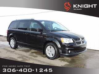 2020 Dodge Grand Caravan Crew 2WD | DVD | B/U Camera | Power Sliding Doors Van