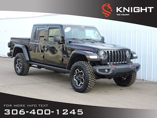 2020 Jeep Gladiator Rubicon 4x4 | Leather Heated Seats & Steering Whee Truck Crew Cab