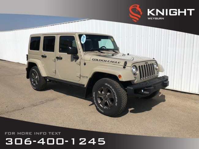 2018 Jeep Wrangler JK Sport Golden Eagle | Tow Package SUV