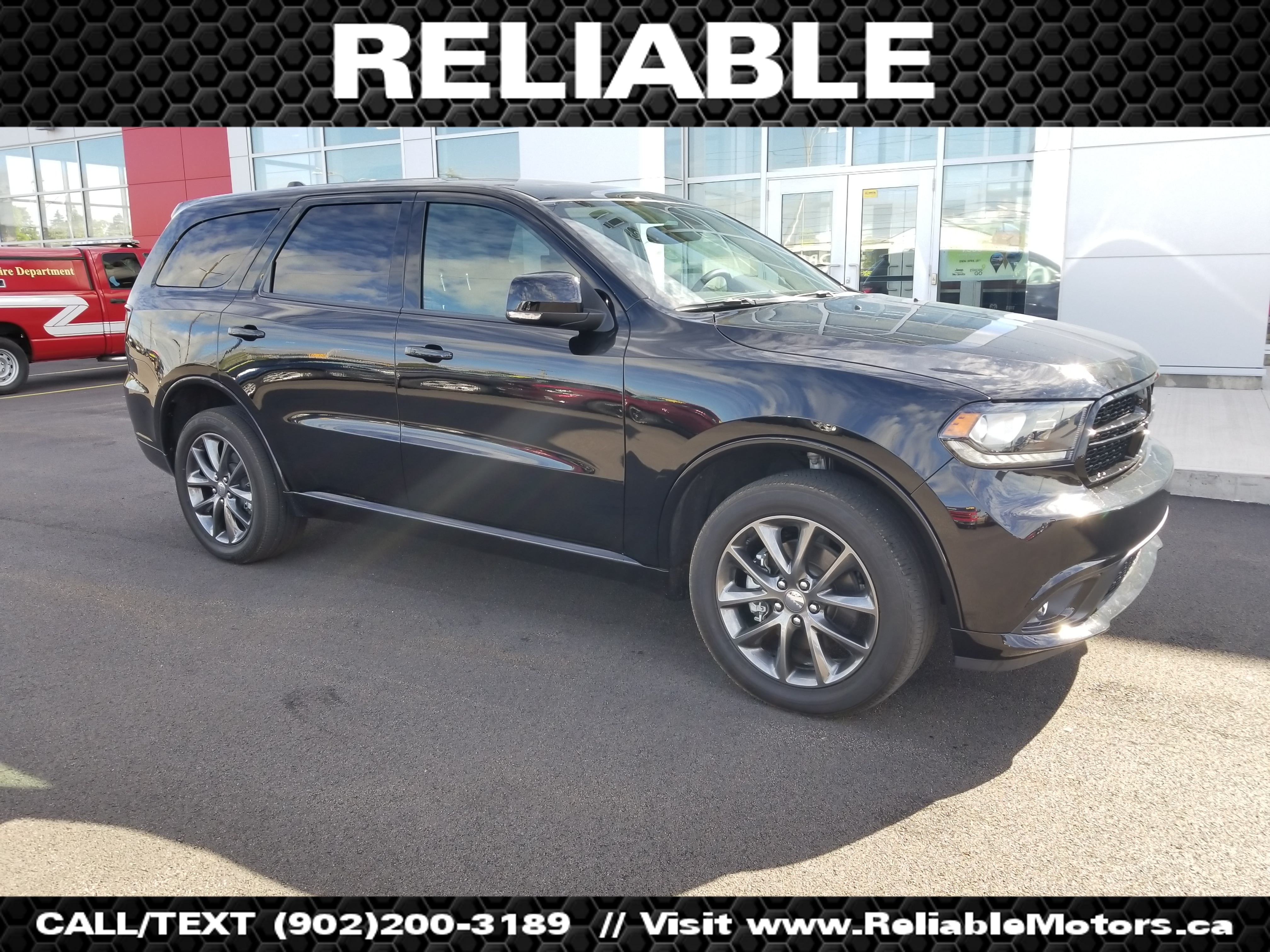 2017 Dodge Durango GT | AWD - 3rd row seating - DVD player - Front & middle row heated seats - Backup camera - Bluetooth - Sunroof -  SUV