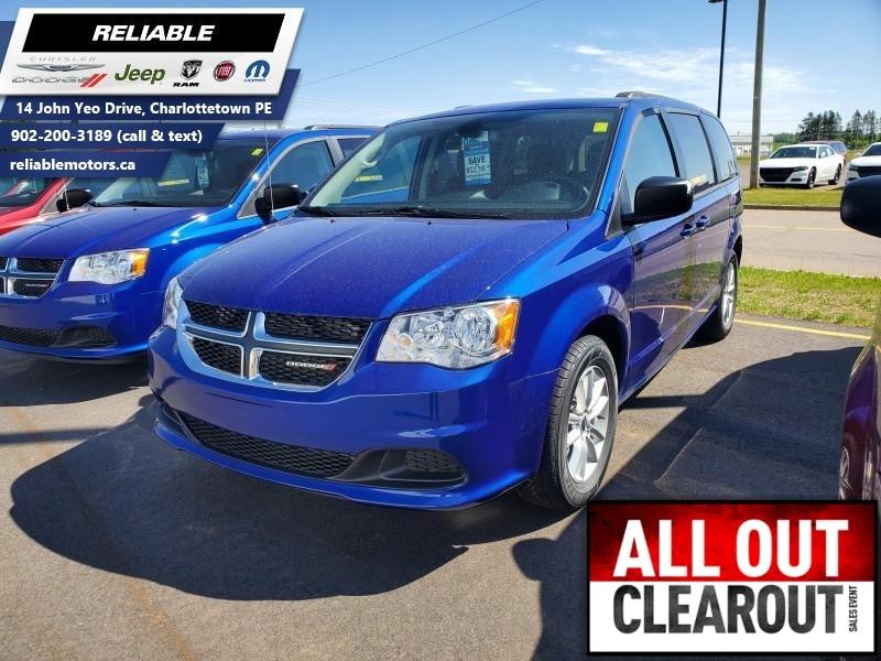 2019 Dodge Grand Caravan SXT -  Dual Zone AC Van