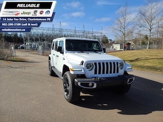 2021 Jeep Wrangler Unlimited Sahara 4xe | Plug-in Hybrid Electric SUV
