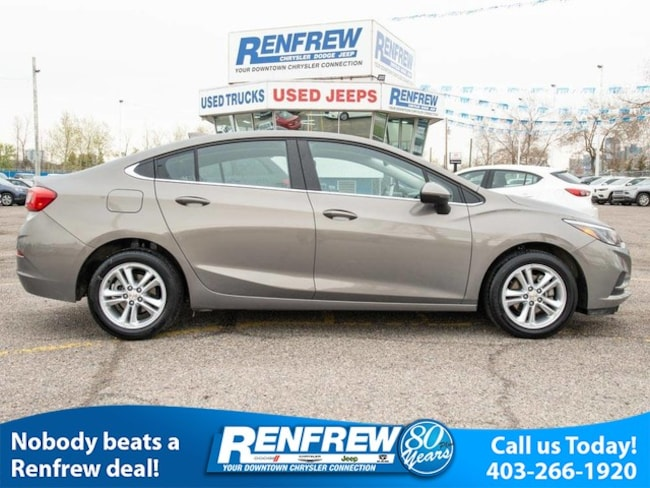 2018 Chevrolet Cruze Sedan 1.4L LT w/1SD, Bluetooth, Heated Seats, Back Sedan