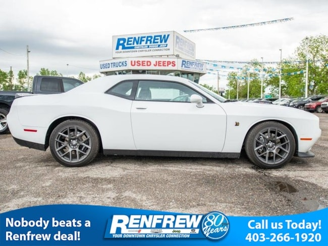 2017 Dodge Challenger R/T 392 Scat Pack Shaker, Low Kms, Manual, Nav, Co Coupe