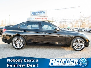 2018 BMW 3 Series 330i xDrive, Sunroof, Heated Leather, Nav, Bluetoo Sedan