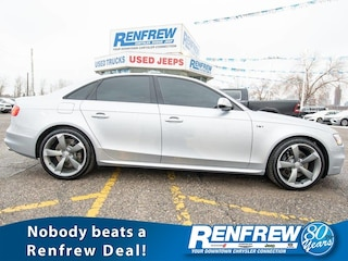 2015 Audi S4 Technik, Sunroof, Nav, Heated Leather, Bluetooth, Sedan