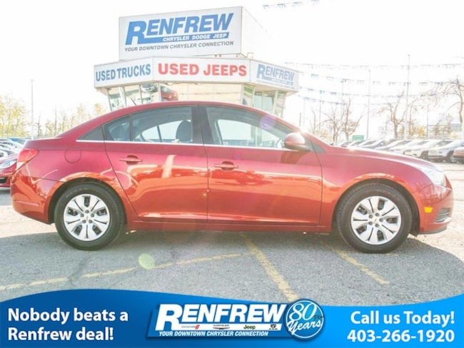 2014 Chevrolet Cruze 1LT, Bluetooth, Remote Start Sedan
