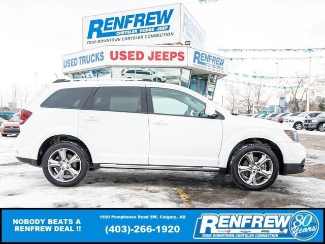 2017 Dodge Journey Crossroad, Sunroof, Rear DVD, Nav, Bluetooth, Back SUV